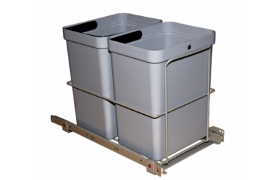 Trash bin 2x10L