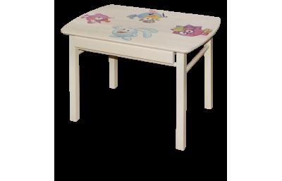 Cтол детский прямоугольный с ящиком