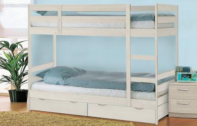 Двухъярусная кровать массив Пирус