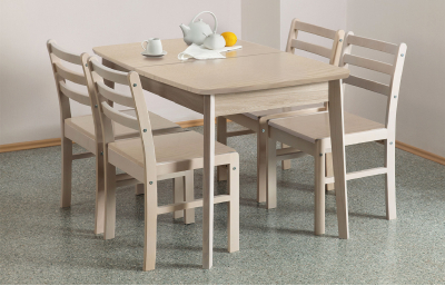 Extendable table oval Lamino cover