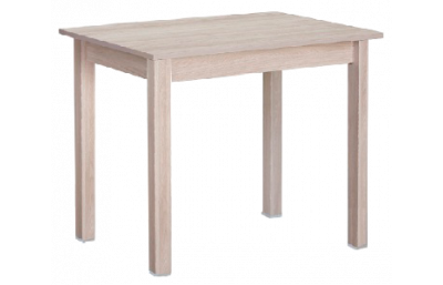 Dining table without drawer