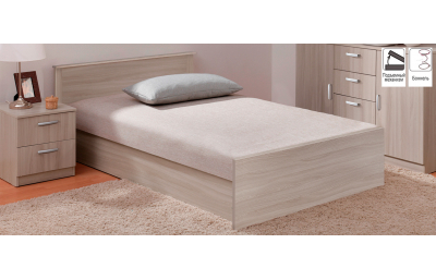 Bed with lift mechanism