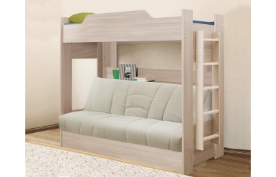 Bunk bed with sofa bed